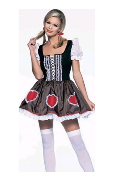 LA8897 Heidi-Ho Fancy Dress Costume - Miss Hollywood - 1