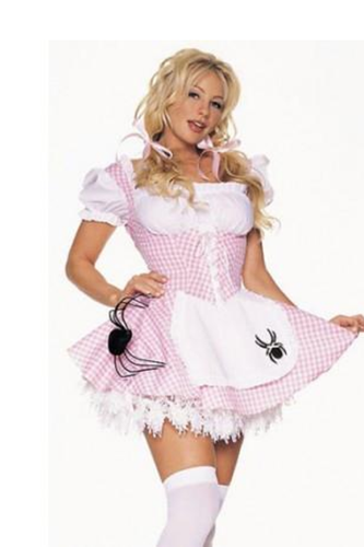LA8908 Miss Muffet Fairytale Fancy Dress Costume - Miss Hollywood - 1