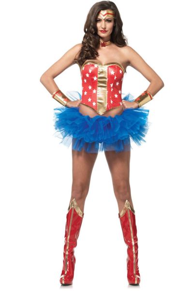 LAA2759 Leg Avenue Super Star Wonder Woman Leg Avenue Hero Kit - Miss Hollywood - 1