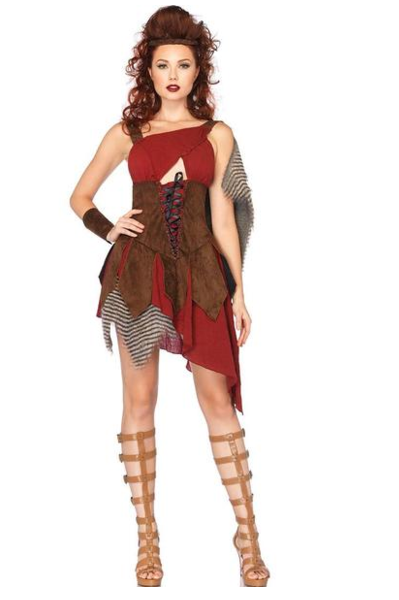 LA85131 Sexy Deadly Huntress Fancy Dress Costume - Miss Hollywood - 1