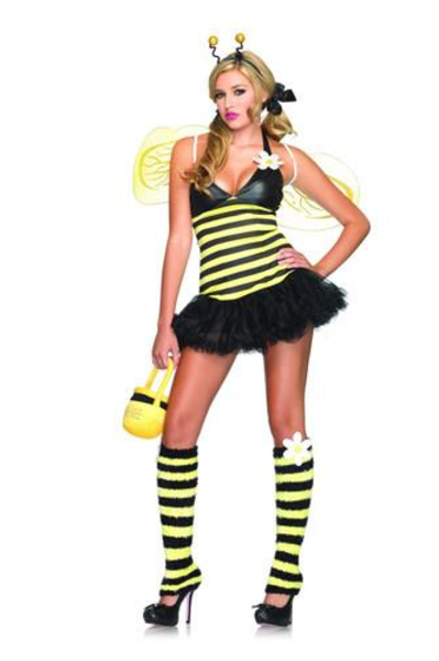 LA83343 Sexy Leg Avenue DAISY BEE Fancy Dress Costume - Miss Hollywood - 1