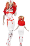 SM21952 Blood Drip Nurse Costume - Miss Hollywood - 1