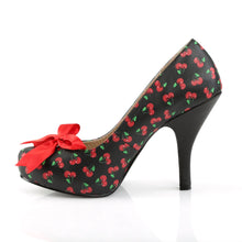 Load image into Gallery viewer, PINUP-05 Pleasers Sexy Shoes 4 1/2 Inch Heel Stiletto Heel Sandal with Bows