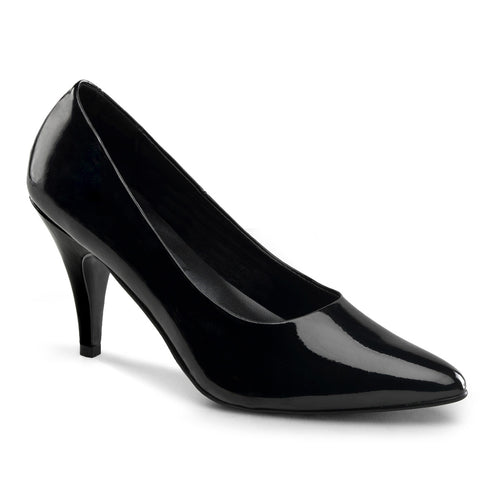 PUMP-420 Funtasma Sexy Shoes 3 Inch Heel Classic Stiletto Heel Shoes Pumps-Women's Shoes-Funtasma-7 uk (40 Europe - 10 Usa)-Black Patent-Miss Hollywood Sexy Shoes