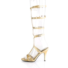 Load image into Gallery viewer, ROMAN-10 Funtasma 3 Inch Heel Gold Women's Sexy Shoes