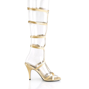 ROMAN-10 Funtasma 3 Inch Heel Gold Women's Sexy Shoes