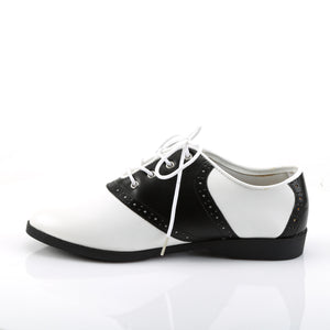 SADDLE-50 Funtasma Black and White Women's Sexy Shoes