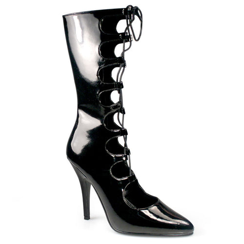 SEDUCE-1049 Pleaser Ankle Boots-Pleaser-Miss Hollywood Sexy Shoes