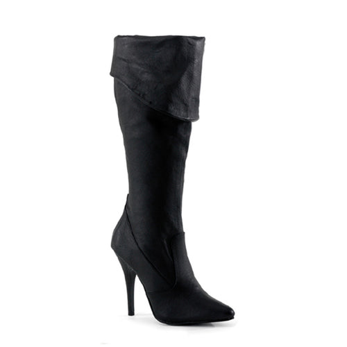 SEDUCE-2013 Pleaser Sexy Sale Shoes 5 Inch Cuffed Knee High Length Boots, Side Zip-Pleaser-Miss Hollywood Sexy Shoes