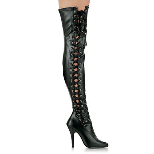 SEDUCE-3050 Pleaser Thigh Boots 5