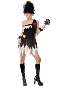 SM30922 Monster's Bride Fancy Dress Costume