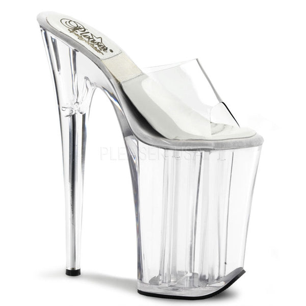 SOL-901-O Sale Pleaser Sexy Shoes 9 Inch Heel Platform Slip on Shoes - Sexy Shoes