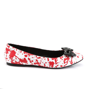 VAIL-20BL Funtasma White Patent Red Women's Sexy Shoes