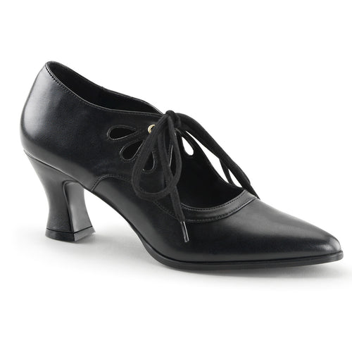 VICTORIAN-03 Funtasma 3 Inch Heel Black Women's Sexy Shoes