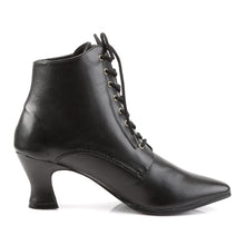 Load image into Gallery viewer, VICTORIAN-35 Funtasma 3 Inch Heel Black Women's Boots-Funtasma- Sexy Shoes Fetish Heels