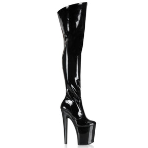 XTREME-3010 Pleaser Sexy Shoes 8 Inch Spike Heel Platforms Boots