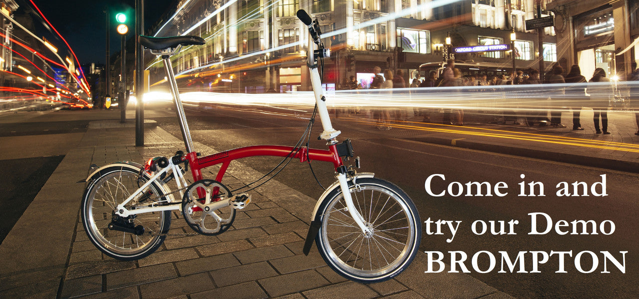 Come in and try our Demo Brompton