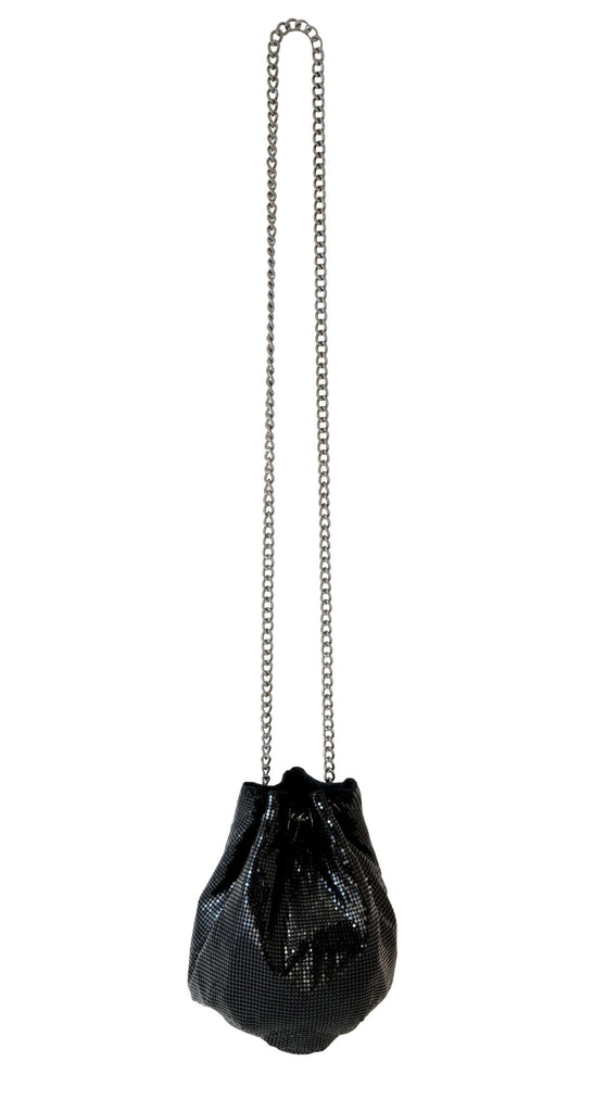 SOFT BUCKET BAG - BLACK