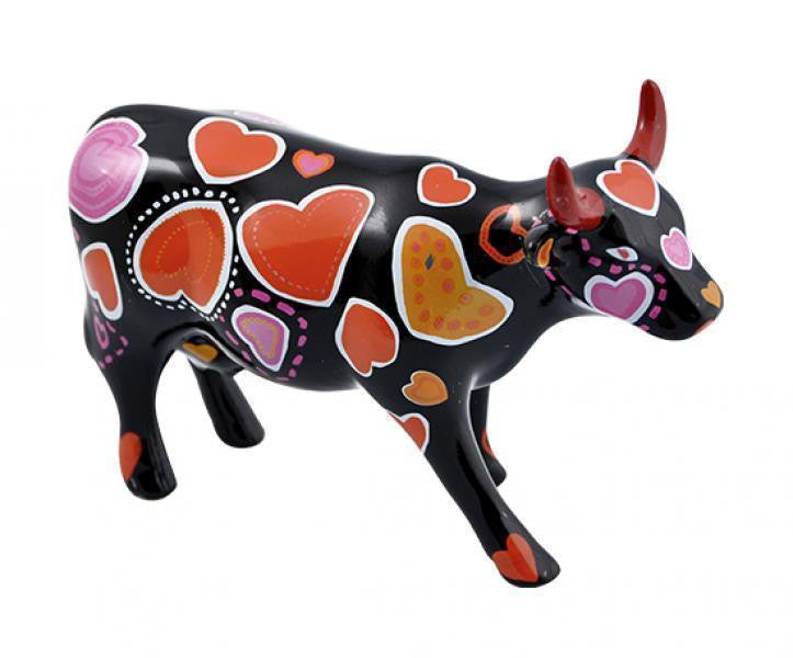 COW-WEEN OF HEARTS - SMALL