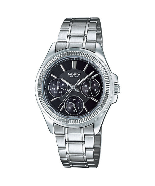 Casio LTP-2088D-1AV Women's Stainless Steel Watch
