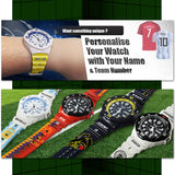 Casio F-108 Germany Custom Design 2018 World Cup Series Resin Watch