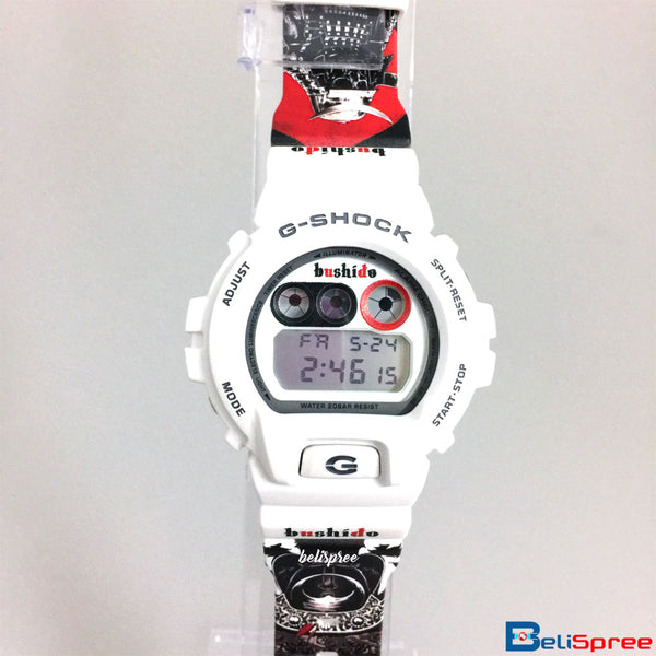Casio G-Shock DW-6900 Bushido Custom Printed Assembled Resin Watch