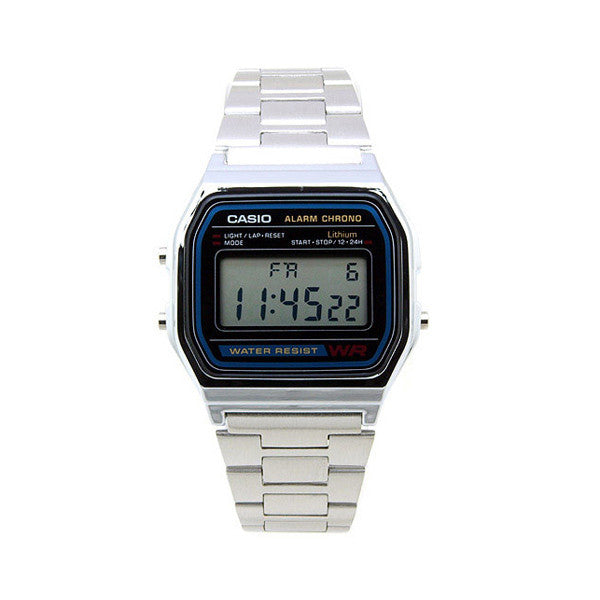 Casio A-158WA-1D Stainless Steel Watch