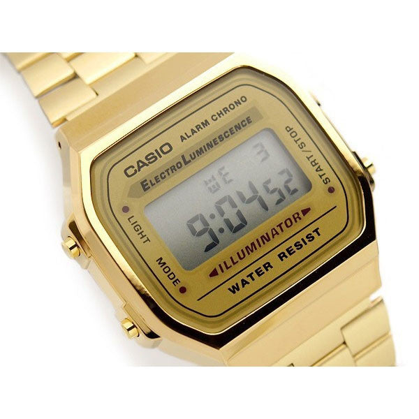 Casio A-168WG-9W Stainless Steel Watch