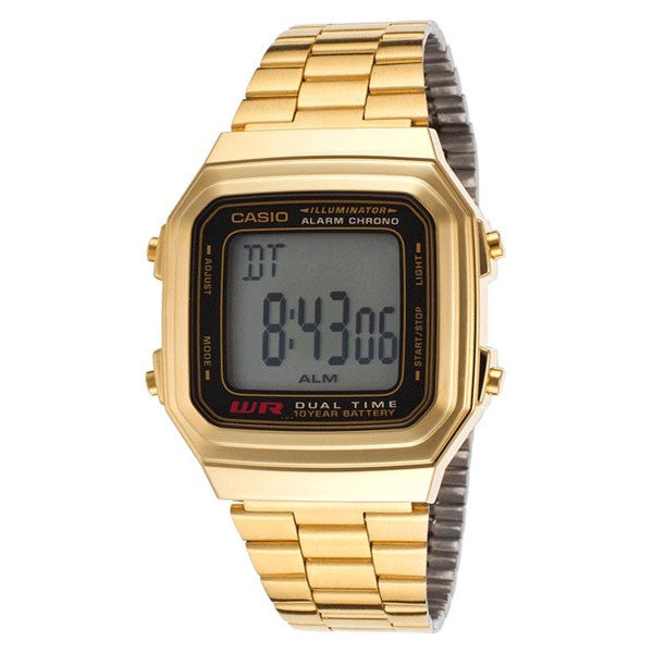 Casio A178WGA-1A Stainless Steel Watch