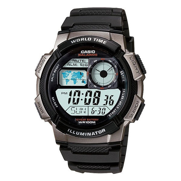 Casio AE-1000W-1BV Resin Watch