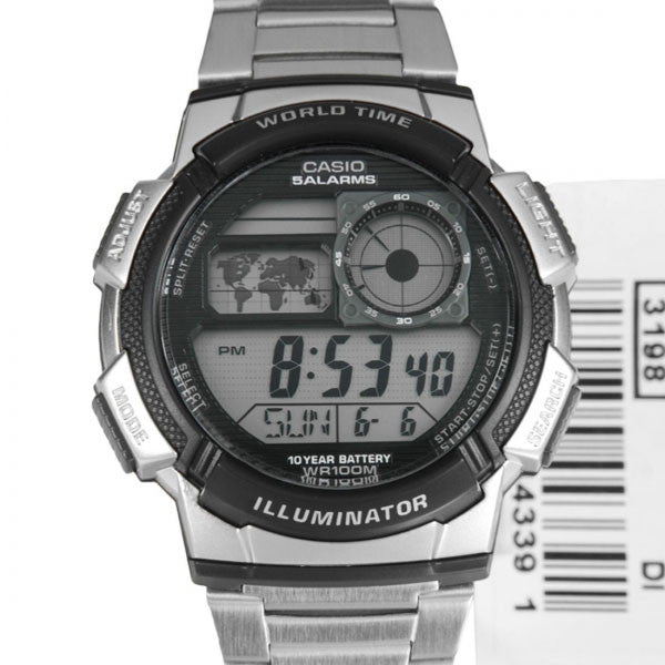 Casio AE-1000WD-1AV Stainless Steel Watch