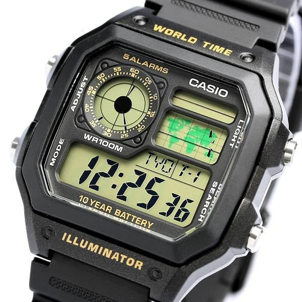 Casio AE-1200WH-1BV Resin Watch