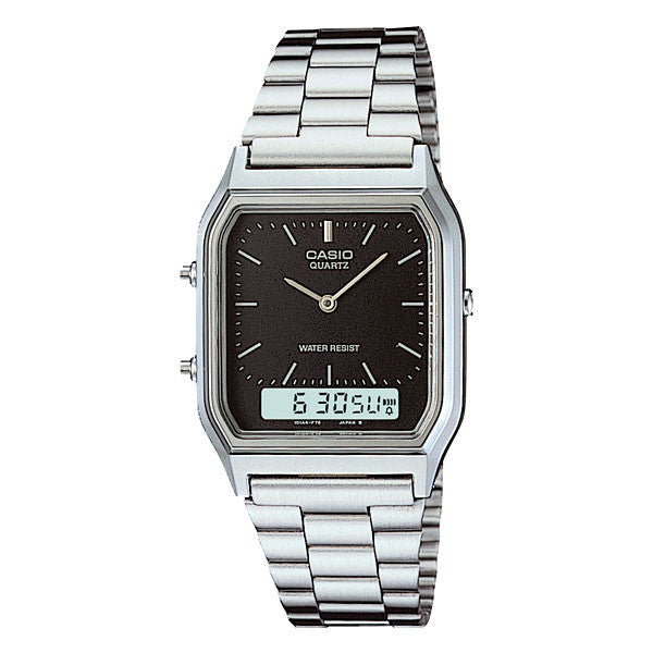 Casio AQ-230A-1D Stainless Steel Watch