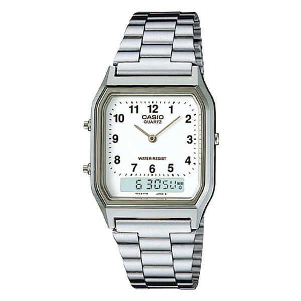 Casio AQ-230A-7B Stainless Steel Watch