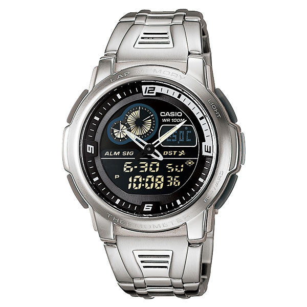 Casio AQF-102WD-1BV Stainless Steel Watch