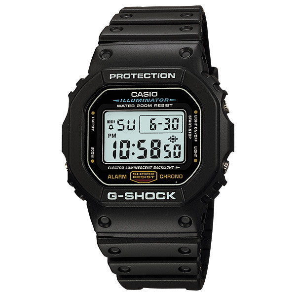 Casio G-Shock DW-5600E-1V Resin Watch