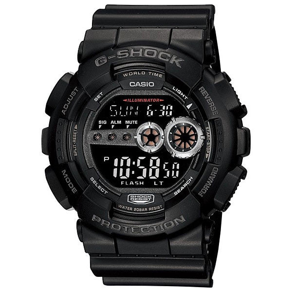 Casio G-Shock GD-100-1B Resin Watch