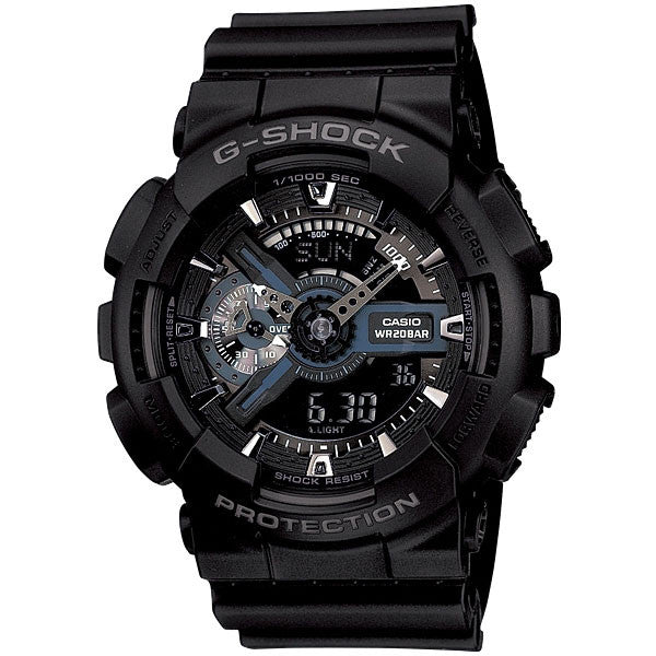 Casio G-Shock GA-110-1B Resin Watch