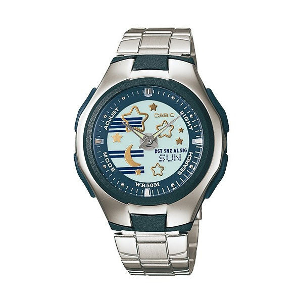 Casio POPTONE LCF-10D-2AV Stainless Steel Watch