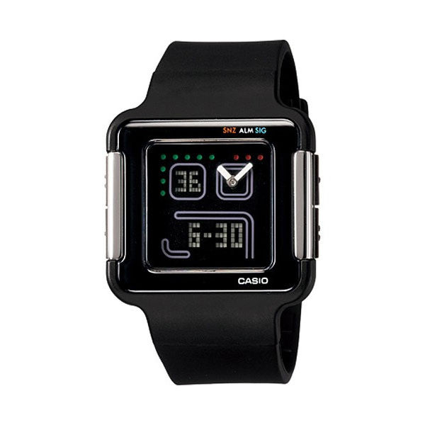 Casio POPTONE LCF-20-1DR Resin Watch