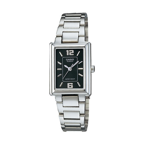 Casio LTP-1238D-1A Women's Stainless Steel Watch