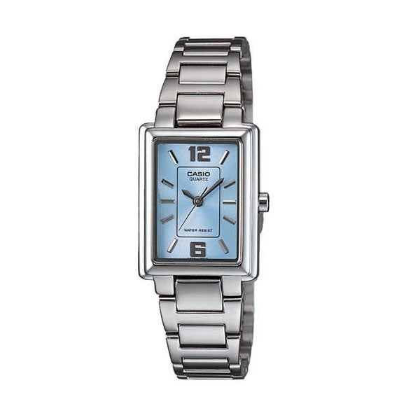 Casio LTP-1238D-2A Women's Stainless Steel Watch