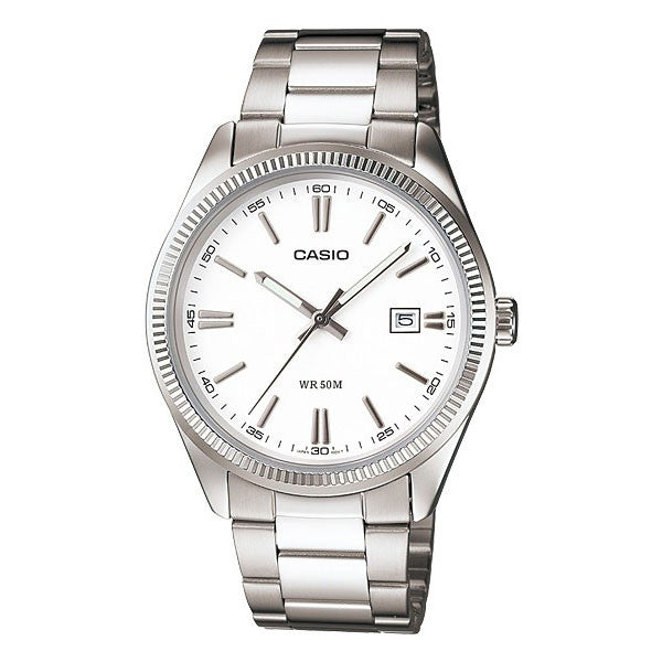 Casio MTP-1302D-7A1V Men's Stainless Steel Watch