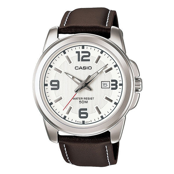 Casio MTP-1314L-7AV Men's Leather Watch