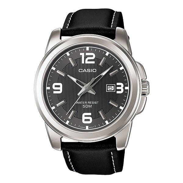 Casio MTP-1314L-8AV Men's Leather Watch