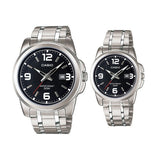 Casio MTP/LTP-1314D-1AV Couple Watches