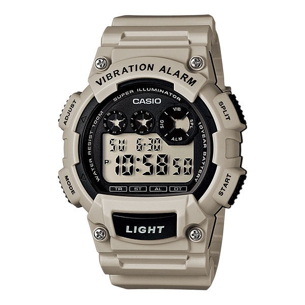Casio W-735H-8A2V Resin Watch