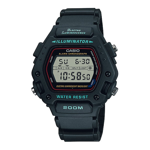 Casio DW-290-1V Resin Watch