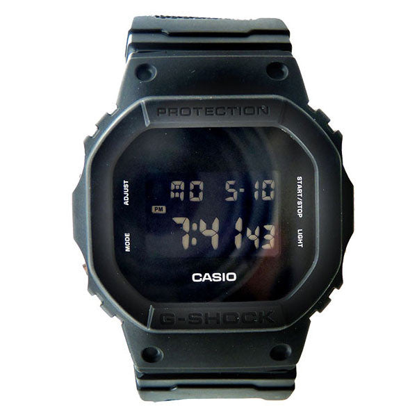 Casio G-Shock DW-5600BBN-1 Cloth Band Watch