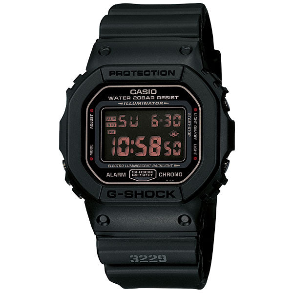 Casio G-Shock DW-5600MS-1 Resin Watch